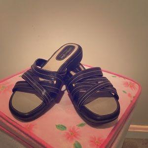 Comfort Plus Black Sandals